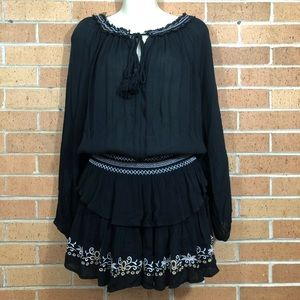 Surf gypsy cover up dress small Black